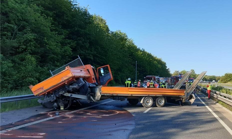 A48 Unfall