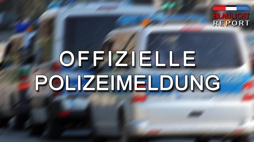 Polizeimeldung Bonn